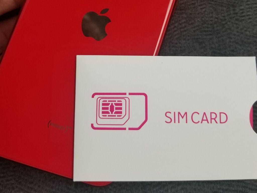 SIM差し込み後の初期設定